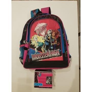 Plecak Monster High szkolny+kubek porcelana St.Maj