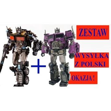 Transformers OPTIMUS PRIME  , ZESTAW DWÓCH ROBOTÓW