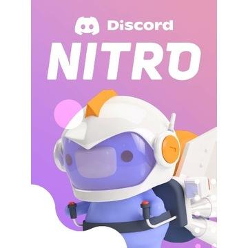 Discord nitrona  3 miesiące  gift na konto discord