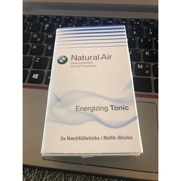 Zapach Energizing Tonic BMW ASO nowy oryg. wkład