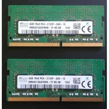 Pamięć SK Hynix 2x 4GB DDR4 2133P SODIMM