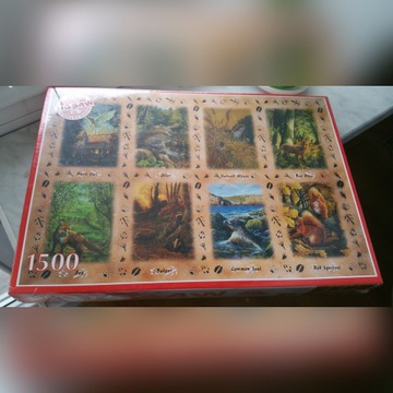 Puzzle JIGSAW 1500