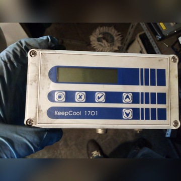 Sterownik regulator temperatury chłodni agregatu
