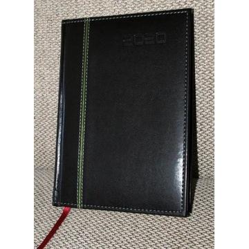 Kalendarz książkowy, 2020, ok. A5, zielony deko