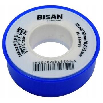 Taśma teflonowa BISAN uszczelniająca teflon 0,075
