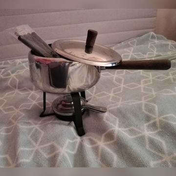 Zestaw do fondue serowego dla 4 osób