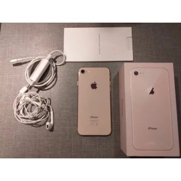 IPhone 8 64gb telefon smartfon rose gold złoty