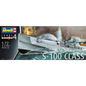 Model niemieckiej łodzi S-100 w skali 1:72 !