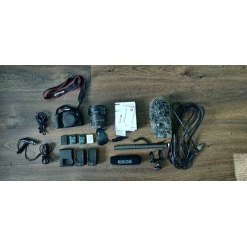 Zestaw Canon EOS 750D + Sigma 17-50mm f/2.8 DOATKI