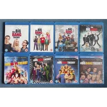 The Big Bang Theory sezony 1-8 Blu Ray