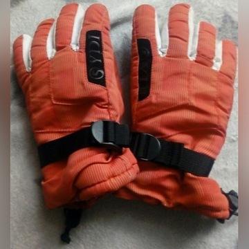 Rękawice narciarskie dla dziecka rozmiar XL