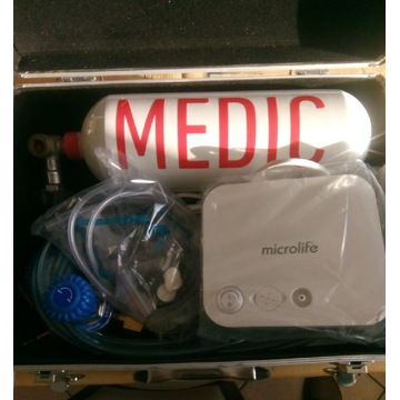 Respirator pneumatyczny, inhalacja, tlenoterapia