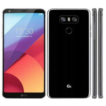 LG G6 - Nowy - Czarny