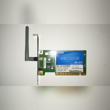Wi-Fi D-Link PCI Express x16 (odwrócone)