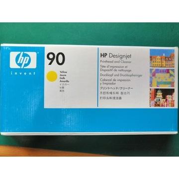 HP 90 Głowica + Czyścik, Yellow, C5057A
