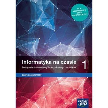 informatyka na czasie 1 zakres rozsze Nowa Era PDF