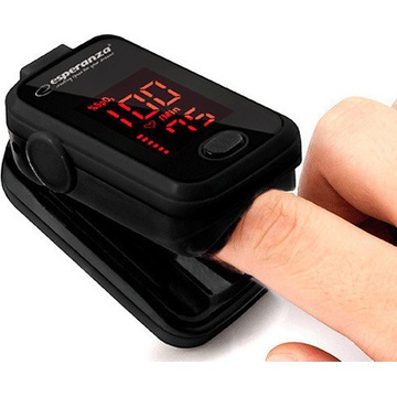 Pulsoksymetr napalcowy medyczny na palec z LCD