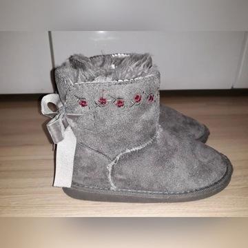 Buty zimowe kozaki emu dziewczęce Primark r 32