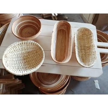 Koszyki do wyrastania chleba fi 20-22cm 0,8-1kg