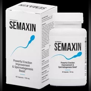 SEMAXIN- Erekcja, naturalne wspomaganie nasienia