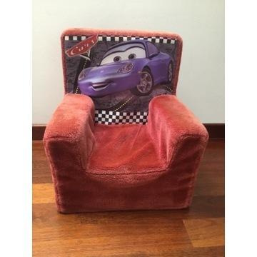 Fotelik fotel piankowy z postacią bajki Auta