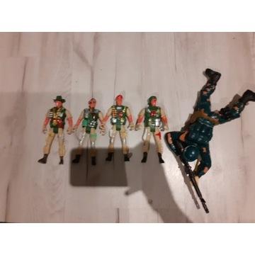 Żołnierze i dodatki mega zestaw