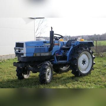Mini traktor Mitsubishi MTE2000D + osprzęt