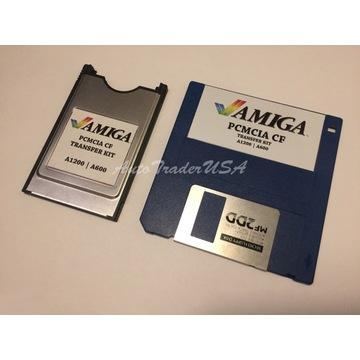 Amiga 600 1200 TRANSFER KIT PCMCIA PC > AMIGA > PC