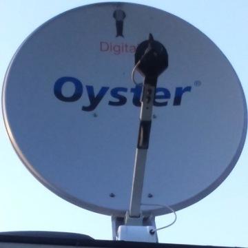 Antena satelitarna Oyster kamper przyczepa