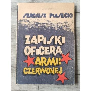 Zapiski oficera Armii czerwonej Sergiusz Piasecki
