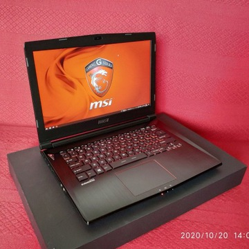 MSI GS43VR 6RE i7 6700HQ GTX1060 16GB DDR4, 24mce