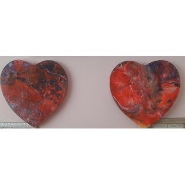 Serca akrylowe metoda puring
