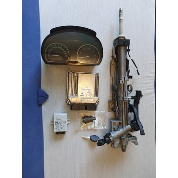 Zestaw startowy BMW X3 E83 3.0D komputer,kluczyki