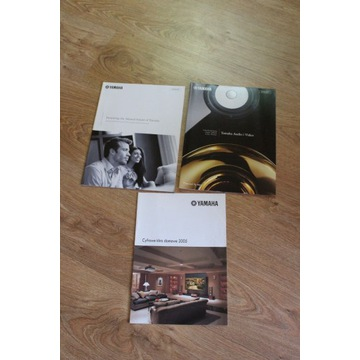 Yamaha katalog Katalogi Audio