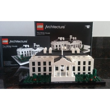 LEGO ARCHITECTURE 21006 The White House Biały Dom