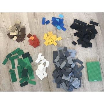 Lego pytki baseplate plate mix kg 215 sztuk okazja