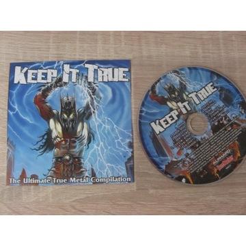 KEEP IT TRUE -The Ultimate True Metal Compilation
