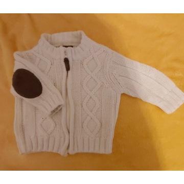 Sweterek chłopiec H&M 62 rozpinany