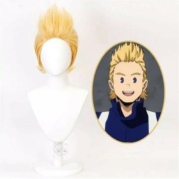Mirio Togata wig cosplay nowy peruka Mha/bnha