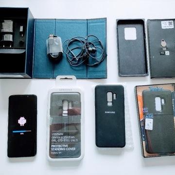 Samsung Galaxy S9+ Plus 6/64GB czarny zestaw