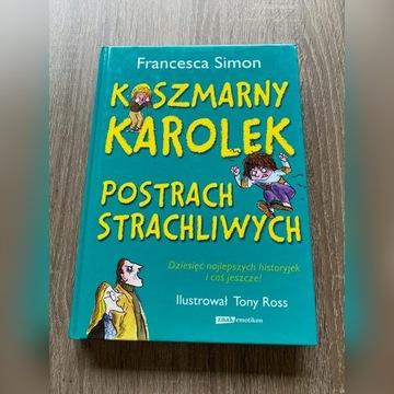 Koszmarny Karolek Postrach strachliwych - książka