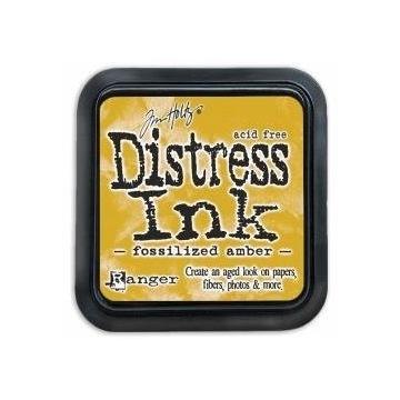 Distress Ink - tusz - Fossilized Amber
