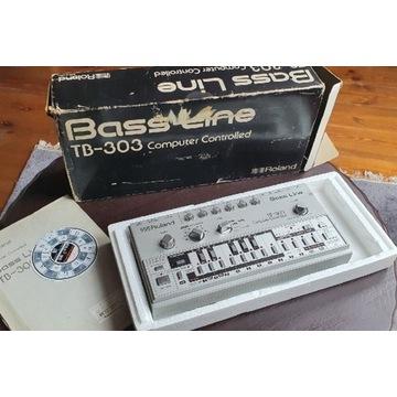 Legendarny i oryginalny syntezator Roland TB-303