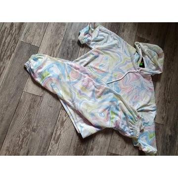 Dresik bawełniany w pastelowych kolorach L-XL