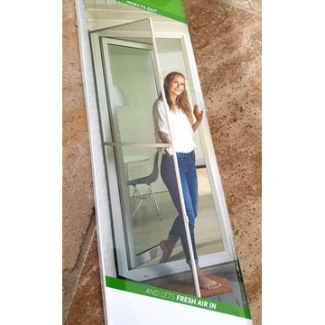 Solidna moskitiera drzwiowa balkonowa do 230x100
