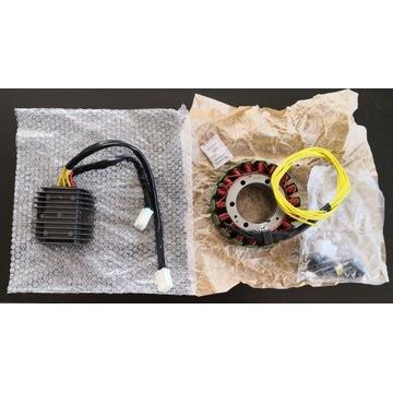 Zestaw CX500 alternator (electrex G08)+reg. nap.