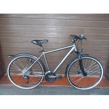 Piękny męski rower Bike Manufaktur Black Cross Alu