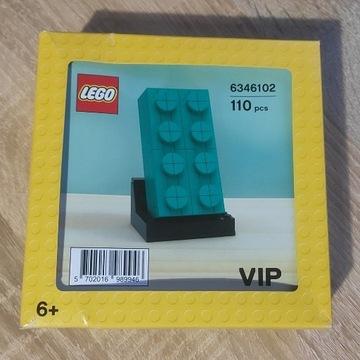 LEGO 5006291 Promocyjne Turkusowy klocek 2x4 Nowe