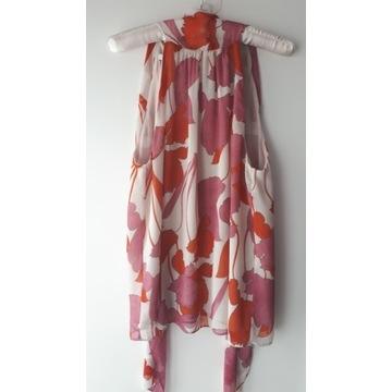 Bluzka top w kwiaty Mango r. S