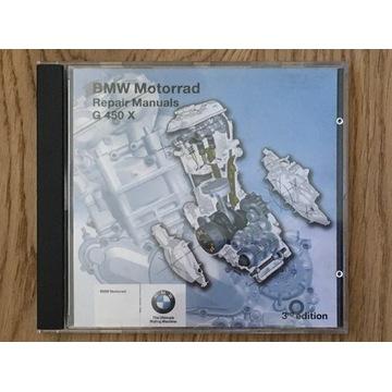 BMW G450X instrukcja napraw, service manual